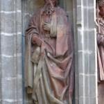 San Lucas Evangelista:Puerta del Nacimiento. Catedral de Sevilla