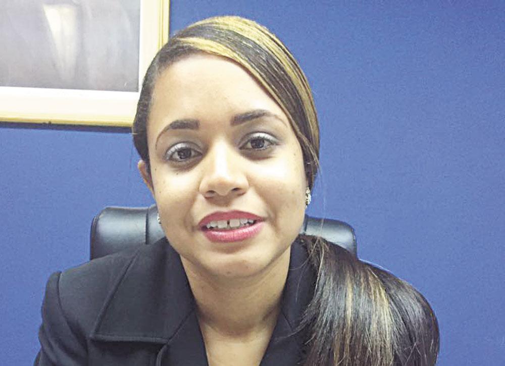 Fiscal titular del Distrito Judicial de Duarte, Smaily Rodríguez Rodríguez