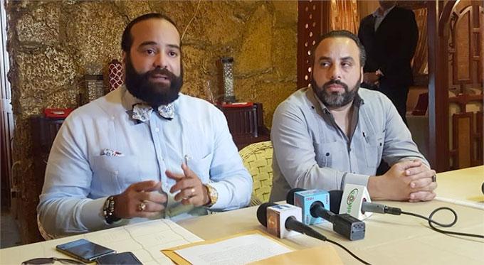 Los representantes legales de Munné S.R.L., juritas Pedro Manuel Casals y Julio Peña Guzmán
