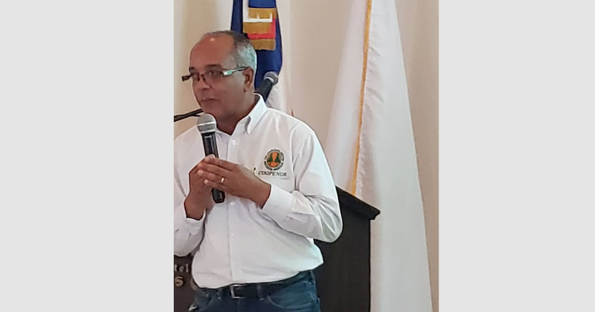 Diego Hidalgo, presidente de Coopenor