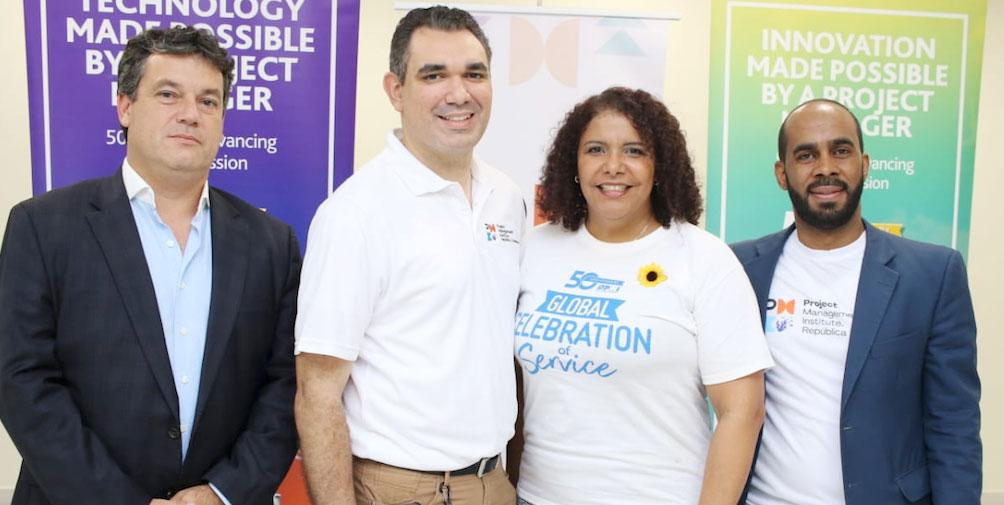 Carlos Qüerio, Carlos Contreras, Angela María Méndez, Federico Montero