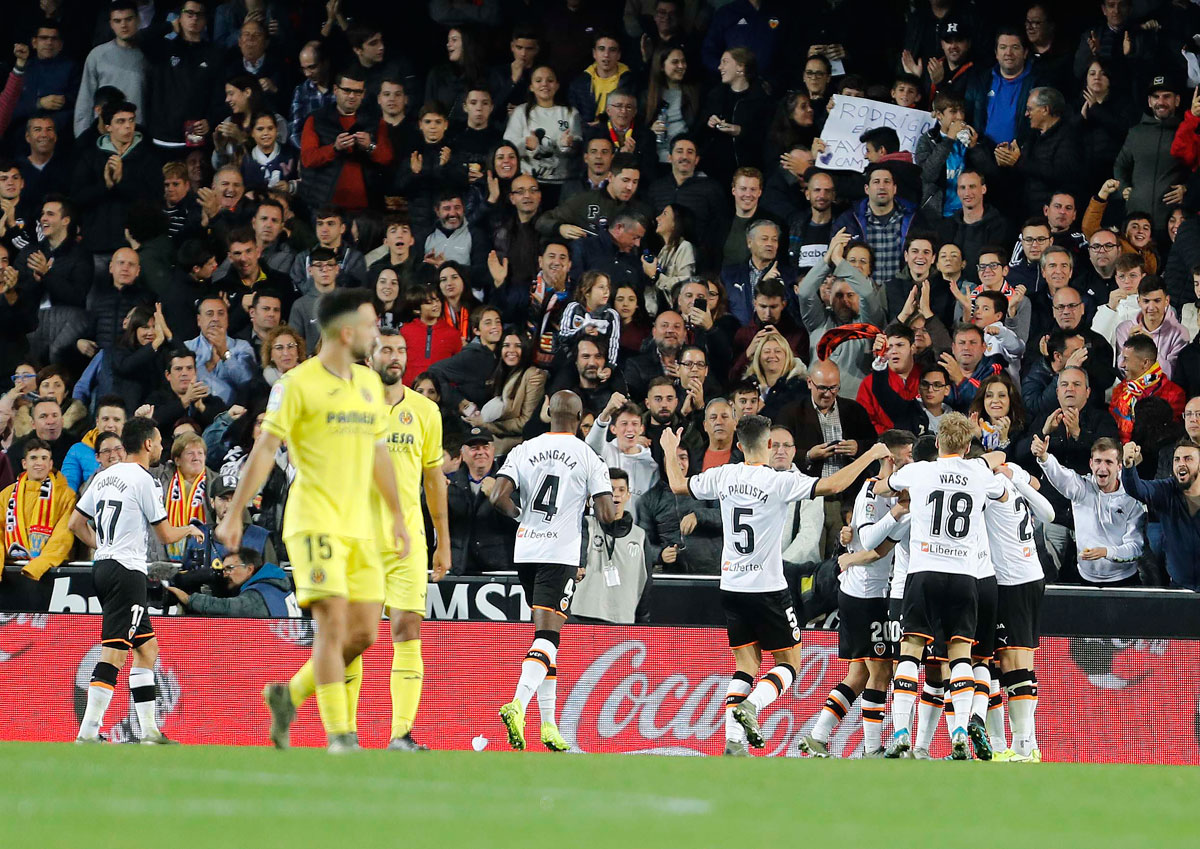 El Valencia se gana el derecho de alardear del derbi contra el Villarreal