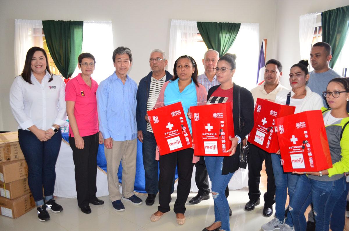 Comunidades de El Llano, Damajagual, Ramonal, Lantigua de Coto y Chinguelo recibieron botiquines de primero auxilios.