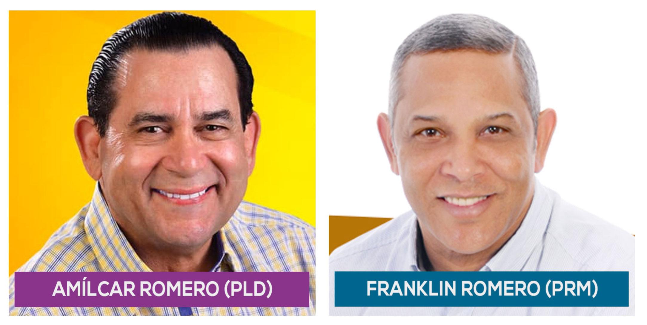 Amilcar Romero y Franklin Romero