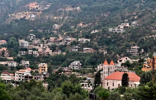 Pueblo de Baskinta, Líbano, 09 de julio de 2020 (expedido el 15 de julio de 2020). Luis Rodolf Abi Nader, cuyas raíces llegan hasta este pequeño pueblo es el presidente electo de la República Dominicana. ( EFE / EPA / NABIL MOUNZER)