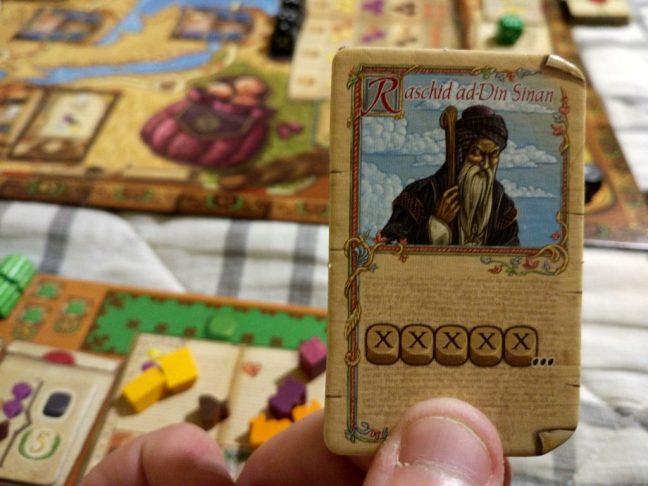 Raschid ad-Din Sinan. Personaje de Los viajes de Marco Polo