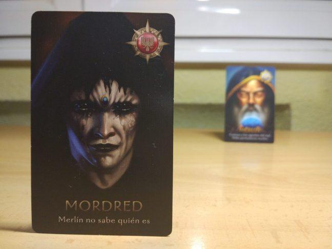 Mordred y Merlín La resistencia Ávalon