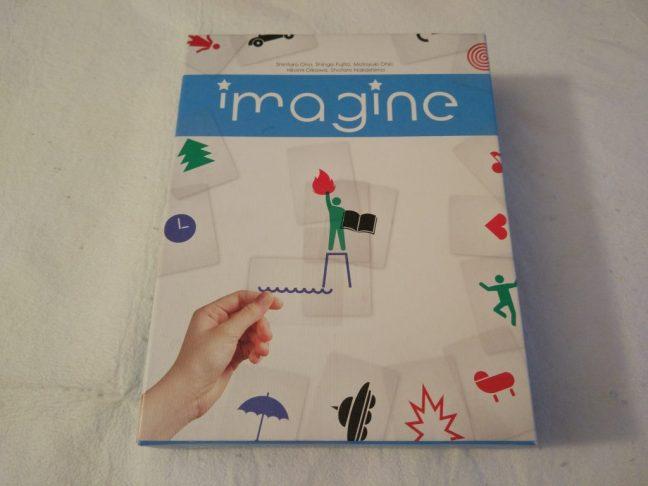 Portada del juego de mesa Imagine