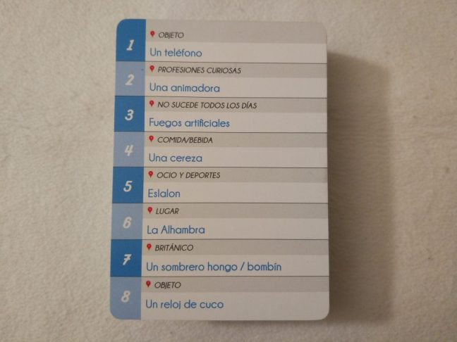 Ejemplo de tarjeta de conceptos en Imagine