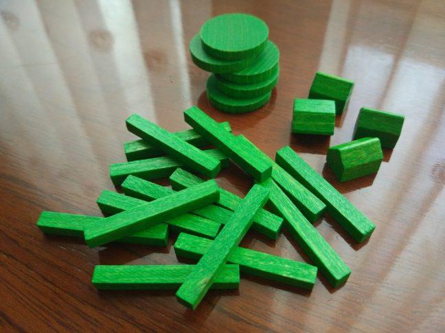 Fichas de madera de Agricola