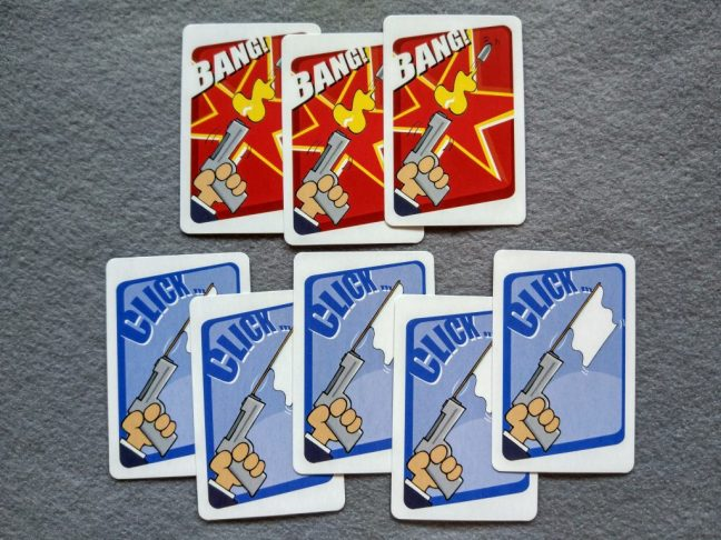 Cartas de bala de Cash n Guns