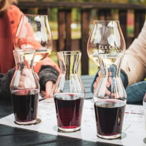 wine tasting carafes