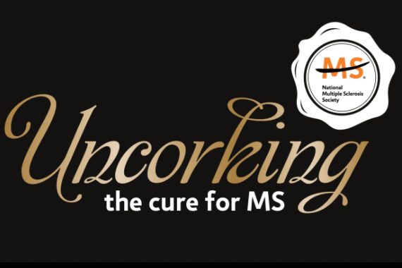 Uncorking the Cure for MS Logo