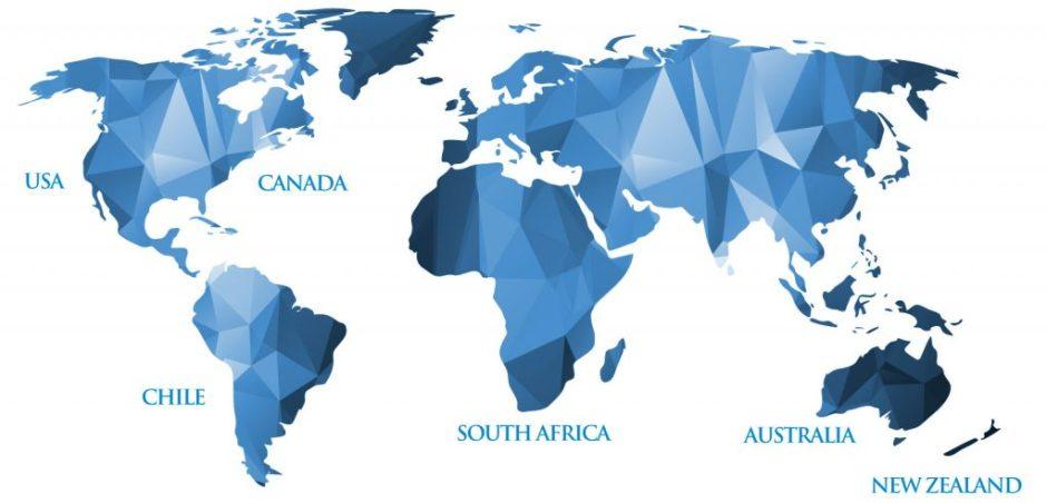 Six Nations Map