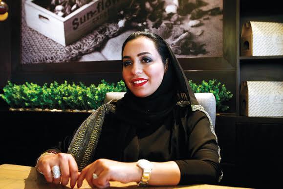 سيدة الأعمال رشا الظنجاني