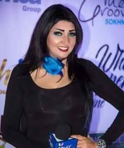 الإعلامية مها عبد الكريم