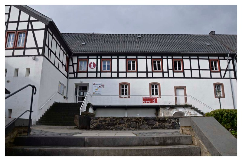 Touristenbüro mit Museum