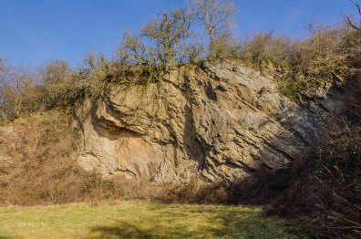 Ein alter Steinbruch