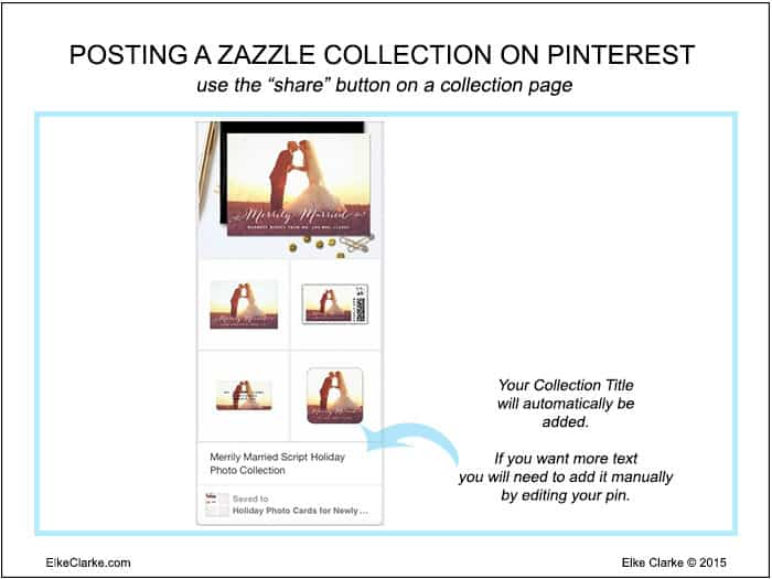 How to Post a Zazzle Collection to Pinterest