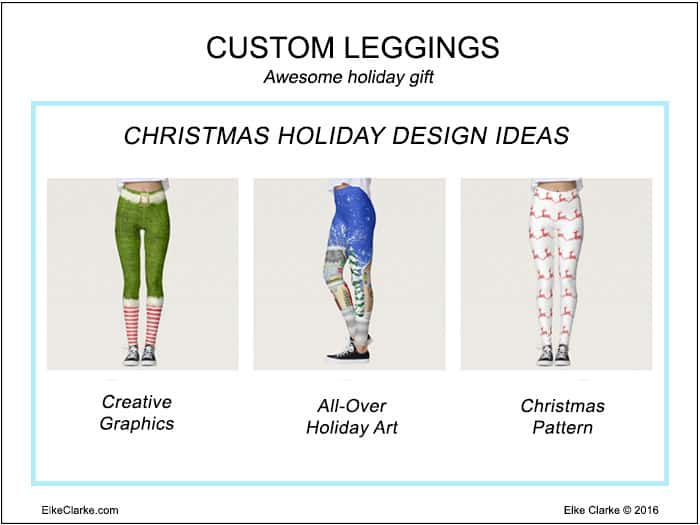 Christmas Holiday Design Ideas on Custom Leggings, just one of the new products to sell on Zazzle