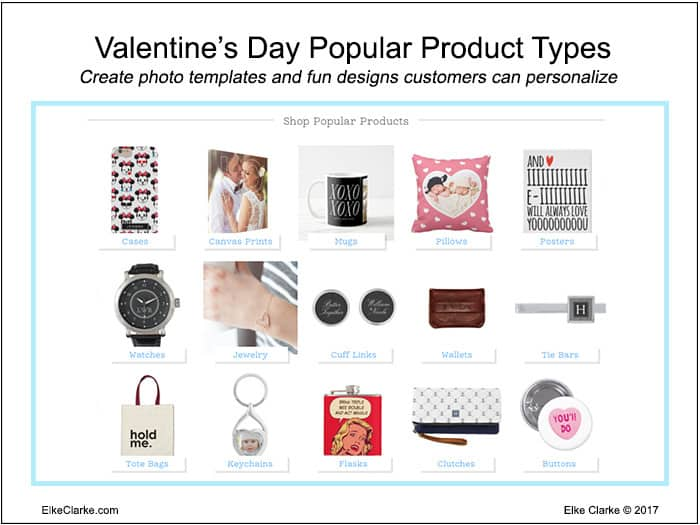 Valentine's Day Popular Products on Zazzle