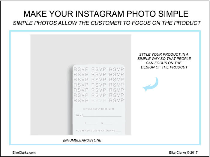 Make Your Instagram Photo Simple