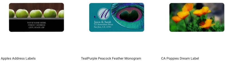 Use Your Artwork to Design Address Labels on Zazzle