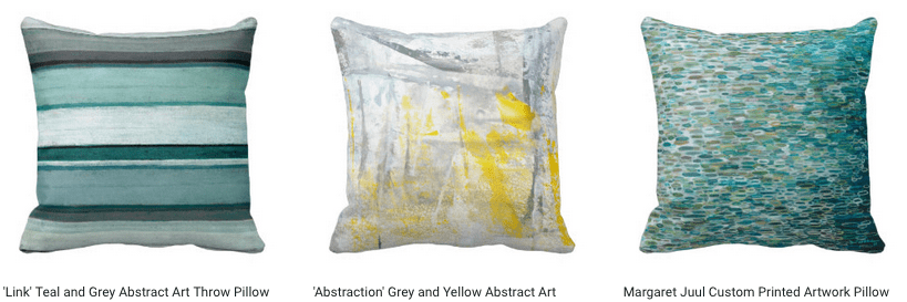 Design Home Decor Pillows Using Your Artwork on Zazzle