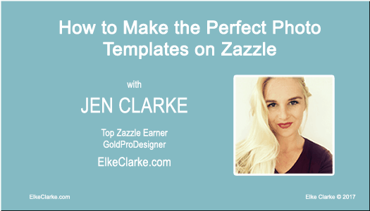 How to Make the Perfect Photo Templates on Zazzle Article by Jen Clarke Gold ProDesigner on Zazzle