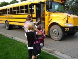 Michigan school bus