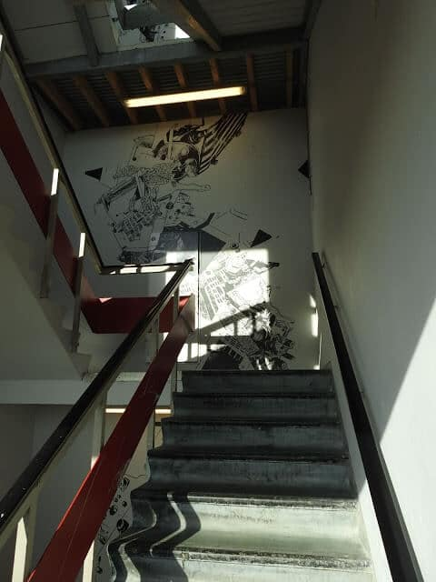 Volkshotel.Treppenhaus.