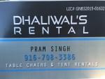 Dhaliwal's rental
