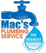 Mac's started as a plumbing service in 2009. We just expanded to add more services and departments for our clients that couldn't find the same standard of service they were used to with us. This is the original Logo!
