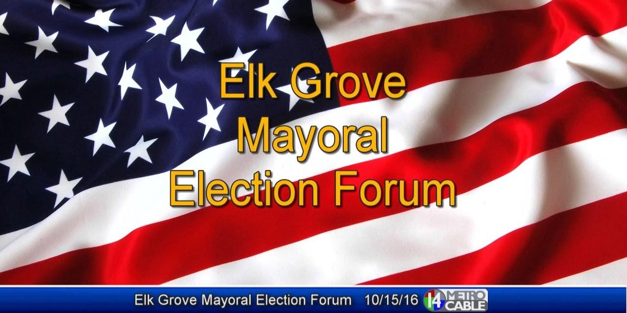 Elk Grove Mayoral Forum