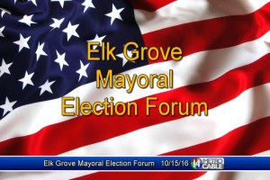 Elk Grove Mayoral Forum