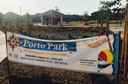 Porto Park Grand Opening Celebration