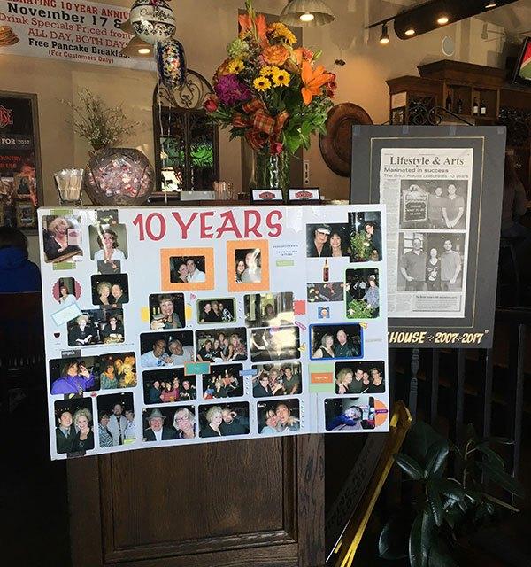 Happy 10th Anniversary Brick House!