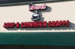 Bravo's Soup & Sandwich Shoppe To Close