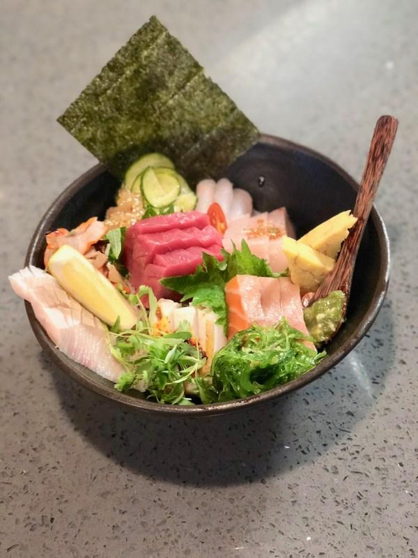 Sushi Q Chirashi