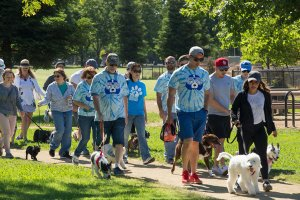 Participants in Wag & Walk Photography Credit: Joe Worseley