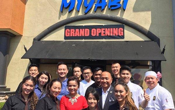 Miyabi Holds Grand Opening