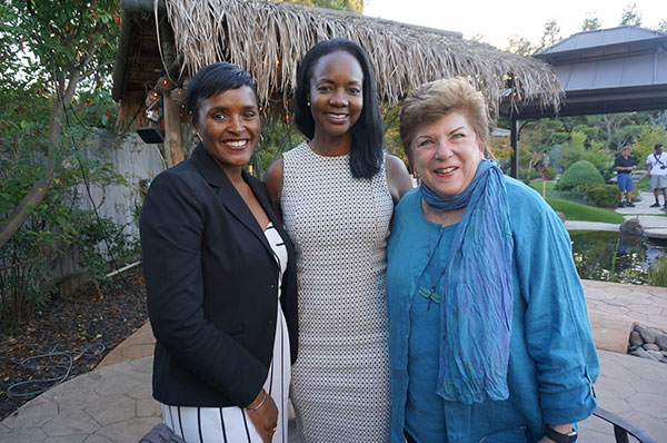 Kimberly Ellis, Mayoral Candidate Tracie Stafford, and Former State Superintendent of Public Instruction Delaine Eastin