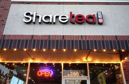 Sharetea Celebrates 1 Year Anniversary & Debuts New Menu Items