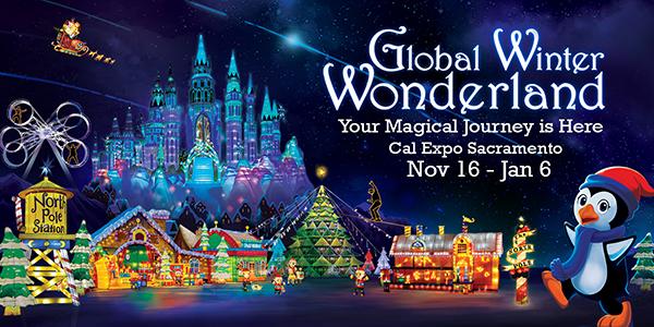 Cal Expo Christmas Lights.Global Winter Wonderland Coming To Sacramento November 23