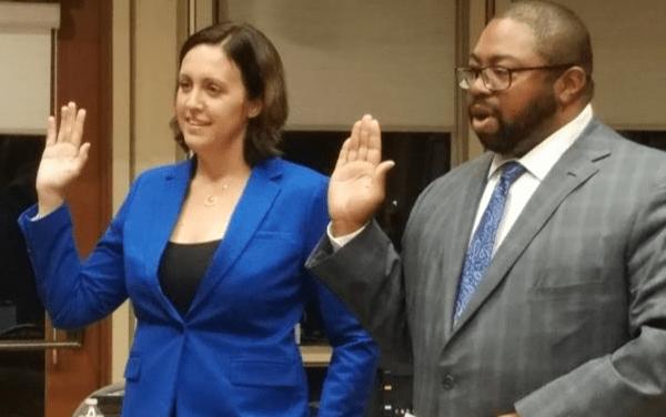 Jaclyn Moreno & Rod Brewer Sworn In As Cosumnes Community Services District Directors