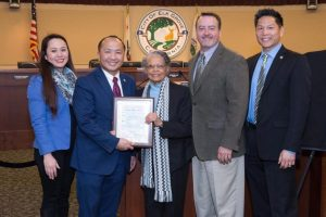 City Council Recognizes Irene West & Proclaims February As Black History Month In Elk Grove