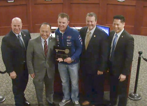 Elk Grove Local Joey Hand Receives Key To The City