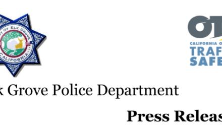 PRESS RELEASE: Elk Grove Police Department