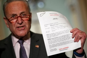 Whistleblower Complaint Against President Trump: The Summary
