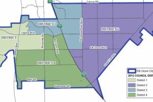 Elk Grove City Council Changes To By-District Voting & Keeps Current Map